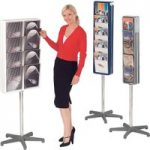 Totem 2 Sided Portable Leaflet Dispenser