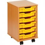 6 Shallow Tray Storage Unit