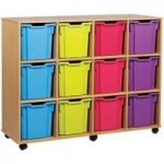 12 Jumbo Tray Storage Unit