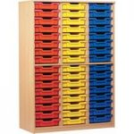 48 Tray Open Storage Cupboard