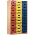 60 Tray Open Storage Cupboard
