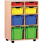 Variety Tray Storage Unit With 8 Trays