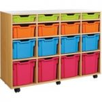 Variety Tray Storage Unit With 16 Trays