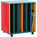 Multi Coloured Big Book Holder