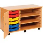 Combination Tray Storage Cupboard