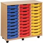 30 Shallow Tray Storage Unit