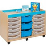 Bubblegum 15 Tray Storage Unit