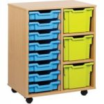 Variety Tray Storage Unit With 11 Trays