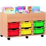 6 Bay Kinderbox With Trays