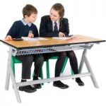 Titan Height Adjustable Classroom Tables